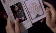Sayid passport from LAX