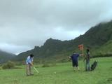 Jin Has a Temper-Tantrum on the Golf Course