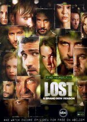 Lost season3 makeup promo poster