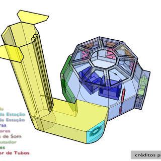 Mapa da Pérola em 3 dimensões