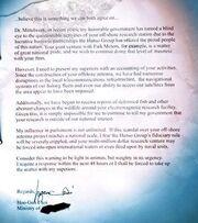 ERI Choi Letter