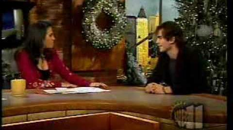 Ian Somerhalder in The WB Morning Show