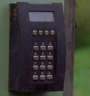 Curtain-keypad