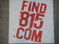 Find 815 LA sticker 1