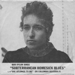 Subterranean Homesick Blues cover