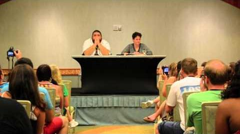 Q&A with Jorge Garcia at LOST 2014