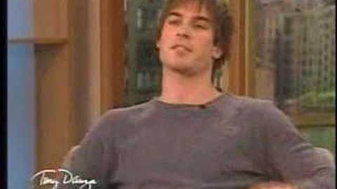 Ian Somerhalder on The Tony Danza Show