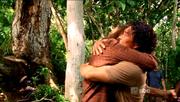 Sawyer en Jin herenigd
