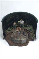 Hatch diorama