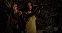 Sayid and Charlie 1x24