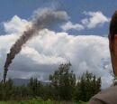 Столб дыма