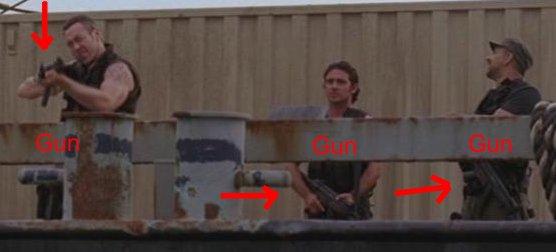 4x08 Keamy's got a gun