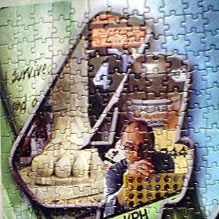 Parte esquerda superior do quebra-cabeça 3.