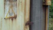 Radio door shot