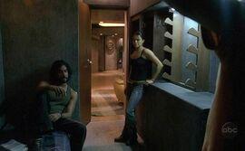 Sayid Ana Lucia 2x18