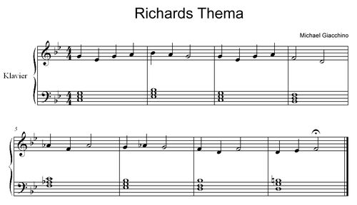 Richards Thema