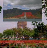 Statue terrain comparison