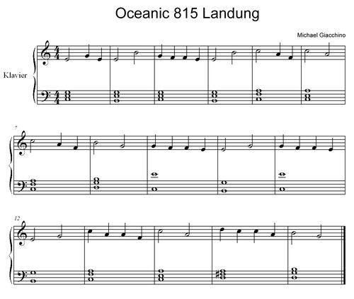 Oceanic 815 Landung