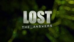 Lost theanswers