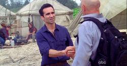 Richard verwelkomt John