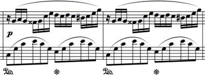 Chopin-Noten