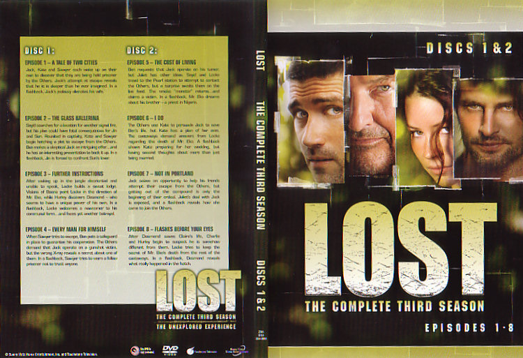 Lost: The Complete Third Season (DVD) | Lostpedia | FANDOM