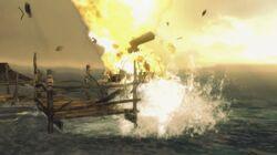 BoatExplodes