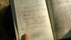 4x05 Journal end
