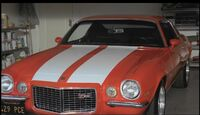 Hurley's Camaro fully restored