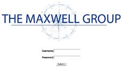 Maxwellwebsitescreenshot