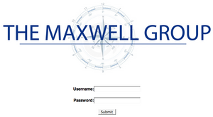 Maxwellwebsitescreenshot