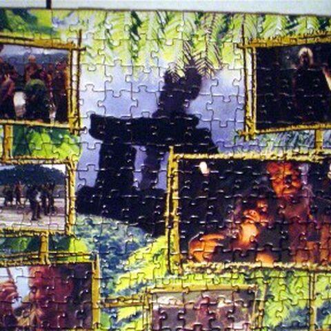 Parte esquerda superior do quebra-cabeça 2.