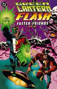 Green Lantern Flash Faster Friends 1 cover