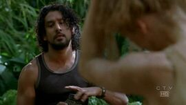 Sayid Juliet 3x16