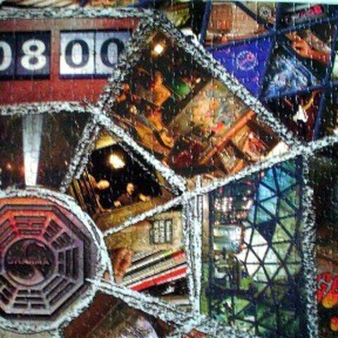 Parte direita superior do quebra-cabeça 1.