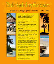 Bali site real