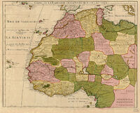 North West Africa 1707
