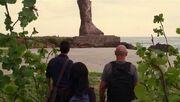 5x16 Statue and trio