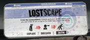 Lostscape boarding pass