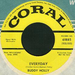 Everyday Buddy Holly