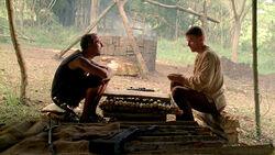 Jacob en zijn broer spelen Senet