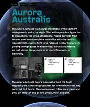 Aurora website