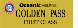 Oceanic Golden ticket