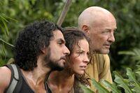Sayid Kate Locke