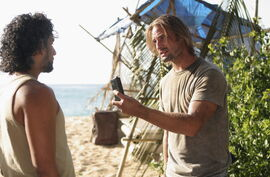 Sawyer Sayid audio 3x20