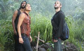 Sayid Ana Charlie 2x17