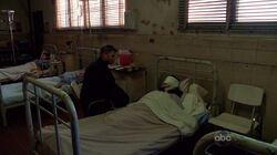 Ilana à l'hôpital