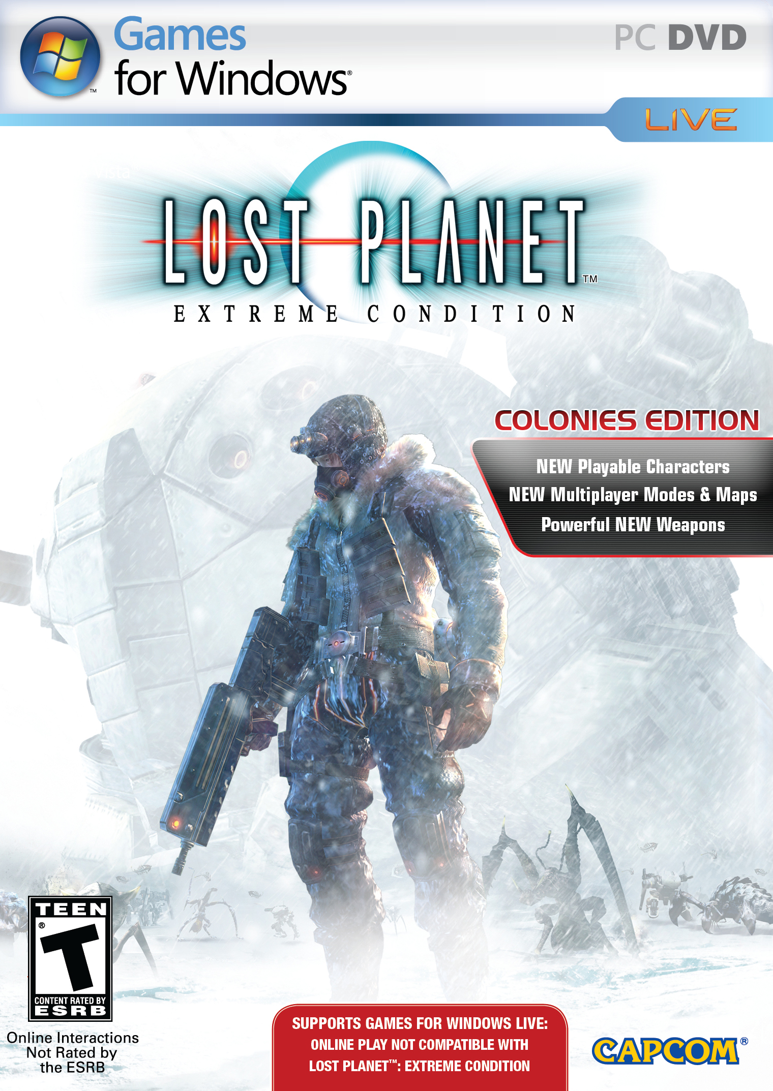 Image result for Lost Planet Extreme Condition cover pc
