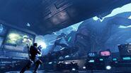 Inside the base Hiveen Battle 3