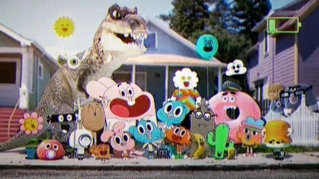Elenco personaggi lo straordinario mondo di gumball wiki - Immagini dei cartoni animati vegetariani ...